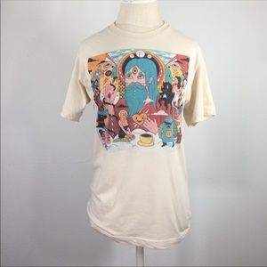 Psychedelic dream T-shirt Cotton Blend bright Fun